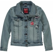 Quapi Serina 2 light denim jacket