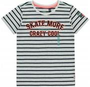 Quapi Serge shortsleeve navy stripe