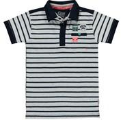 Quapi Shane polo navy stripe