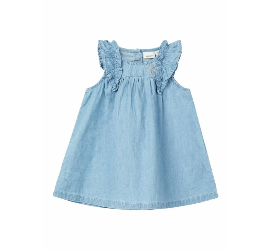 13162409 Nbfasoya light blue denim