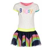 B.NOSY 5852 jurk rainbow 716