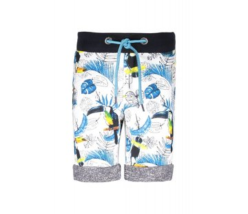 B.NOSY 6635 982 - Toucan ecru melee AO Boys pants with AO print