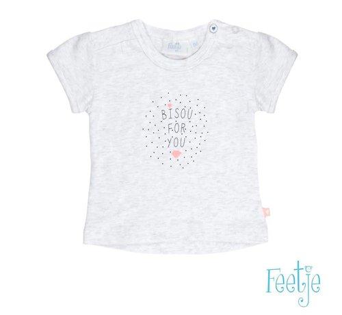 Feetje 51700437 Feetje t-shirt grey melange