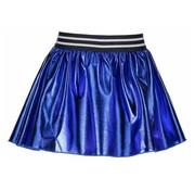 B.NOSY SALE 5752 coated skater skirt metallic royal blue