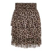 Name it 13169093 Nkfsanessi skirt bright white/ leopard