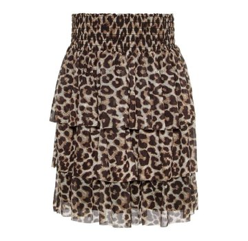 Name it 13169093 Nkfsanessi skirt bright white/ leopard