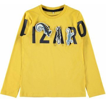 Name it 13168308 Nmmscout longsleeve yolk yellow