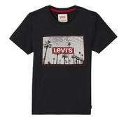 Levis Levis boys tshirt NN10287 black