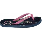 Quapi SALE Saavi flipflops navy flower