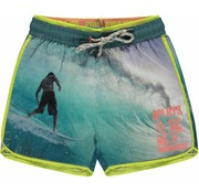 Quapi Sev swim shorts photo print