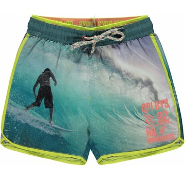 Quapi Sev swim shorts photo print