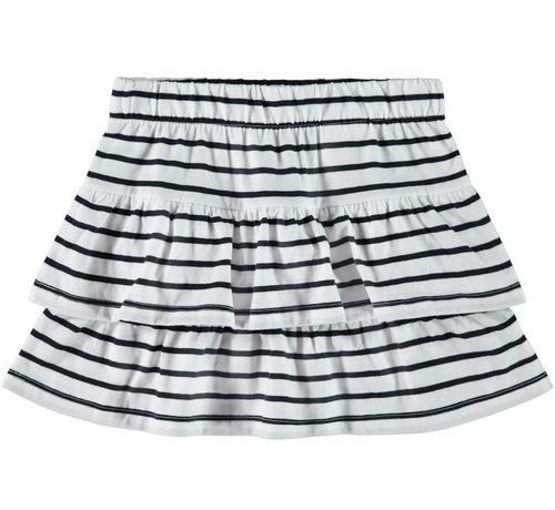 Name it 13161682 Nkfvamaja skirt bright white dark sapphire