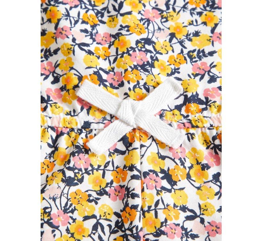 13161693 Nkfvigga strap suit bright white/small flowers