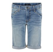 LMTD 13160819 Nlmshaun Dnmtathan 1164 long shorts light blue denim