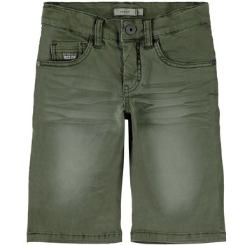 Name it 13161794 Nkmsofus Twicas long shorts ivy green