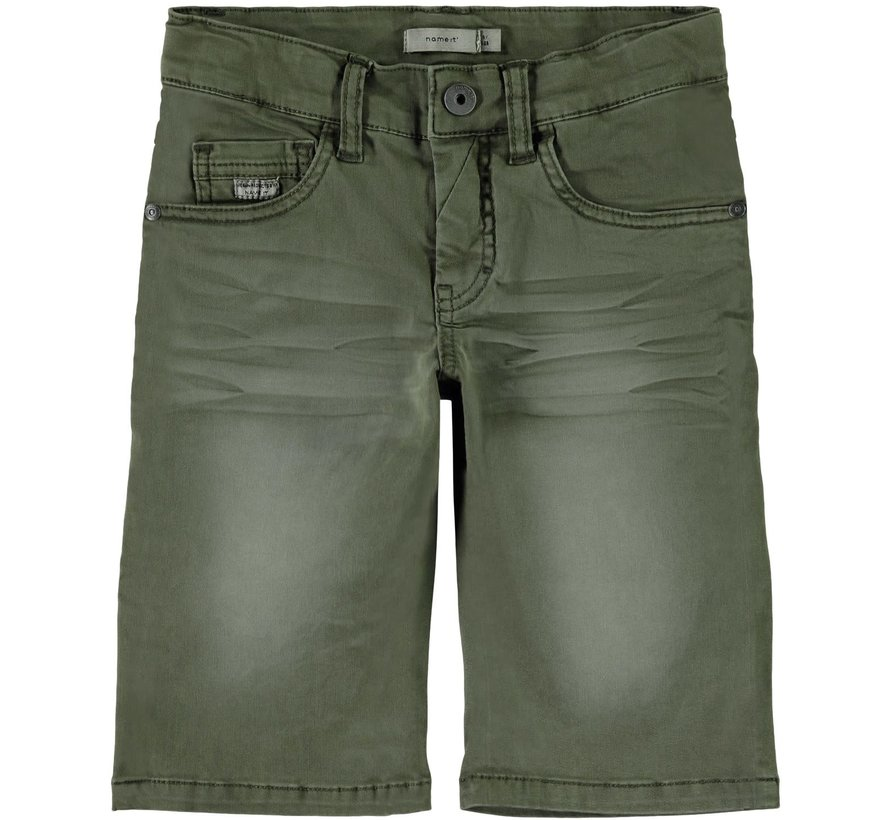 13161794 Nkmsofus Twicas long shorts ivy green