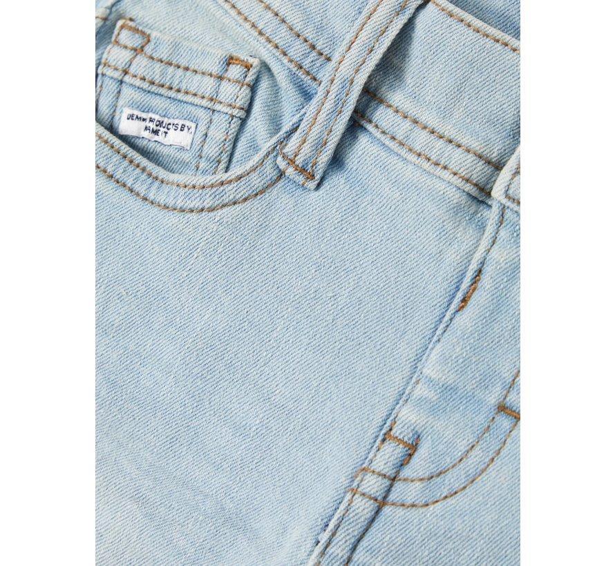 13161951 Nmmsofus Dnmbance 1177 long shorts light blue denim