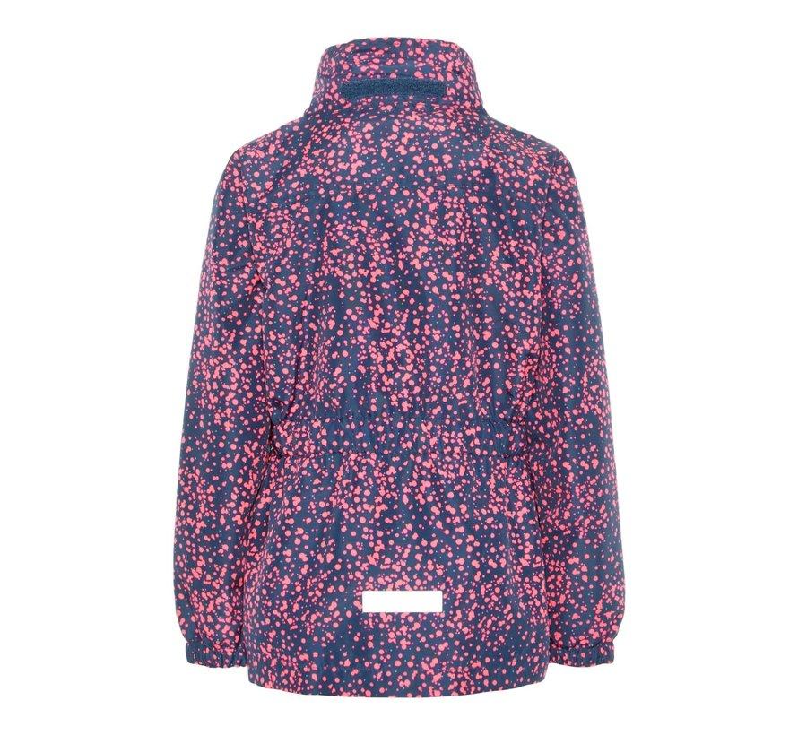 13165250 Nkfmello jacket small dot dark denim