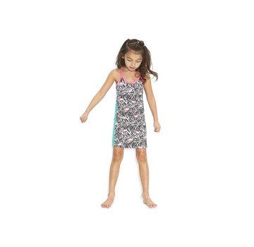 B.NOSY 5882 953 singlet dress with flamingo print