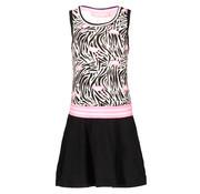 B.NOSY 5883 953 dress white flamingo print