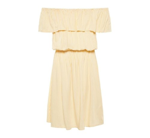 LMTD 13166468 Nlfhimona offshoulder dress pale marigold