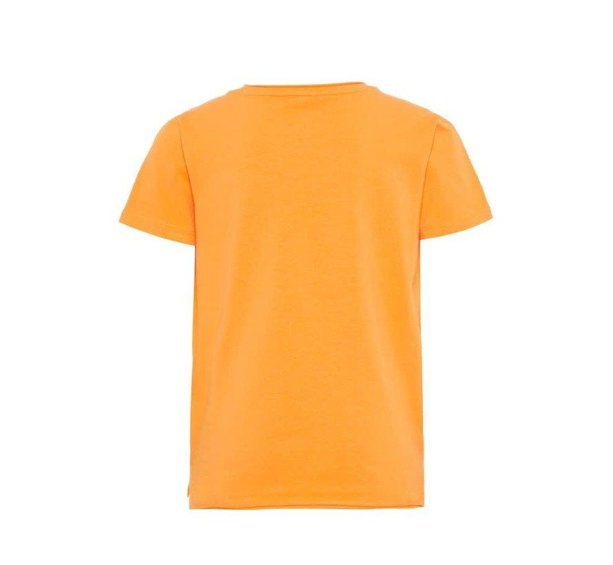 13170154 Nkmjonas top pailletten orange pop