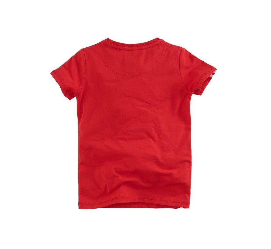 Luuk t-shirt red pepper