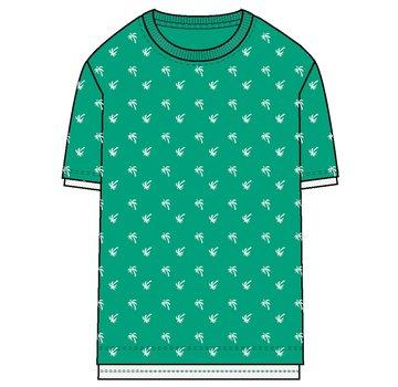 Name it NKMJAKER SS SLIM TOP 13170124 green spruce