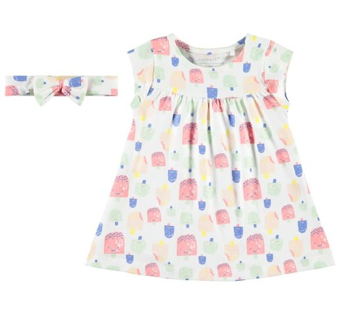 Name it 13166306 Nbfhebine dress set bright white
