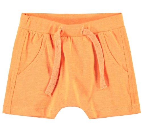 Name it NBMJEMIKKEL SHORTS 13165824 orange pop