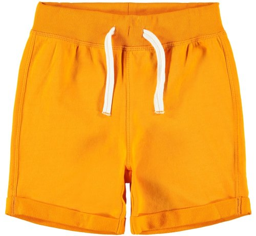Name it NKMPAW UNB SWEAT SHORTS 13162781 flame orange