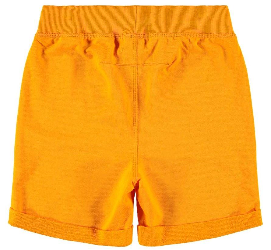 NKMPAW UNB SWEAT SHORTS 13162781 flame orange