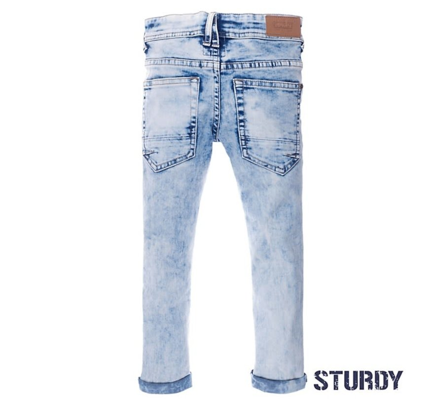 72200118 Sturdy jeans l. blue denim