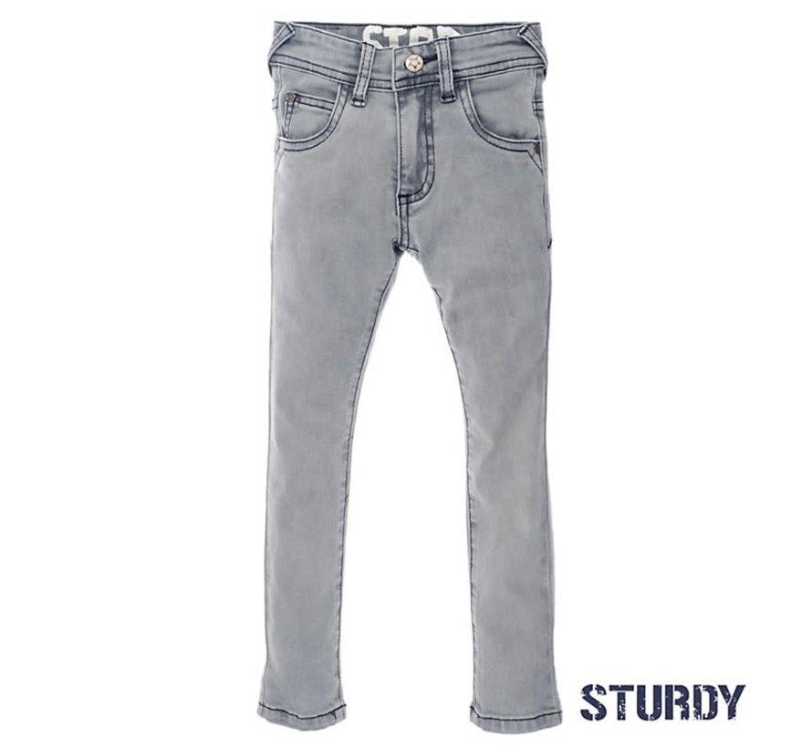 72200119 Sturdy jeans grey denim
