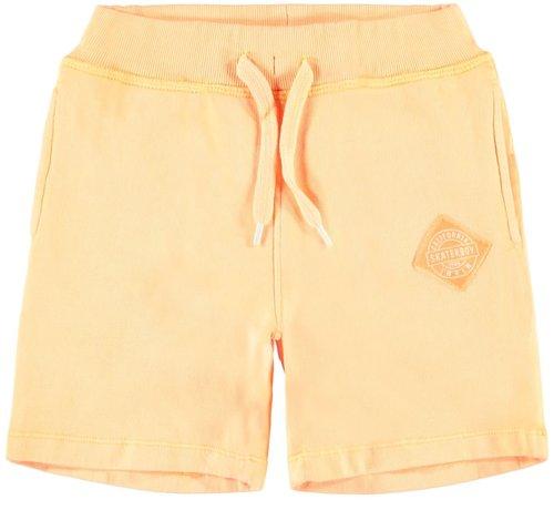 Name it NKMJASMUS SWEAT SHORTS UNB 13165444 orange pop