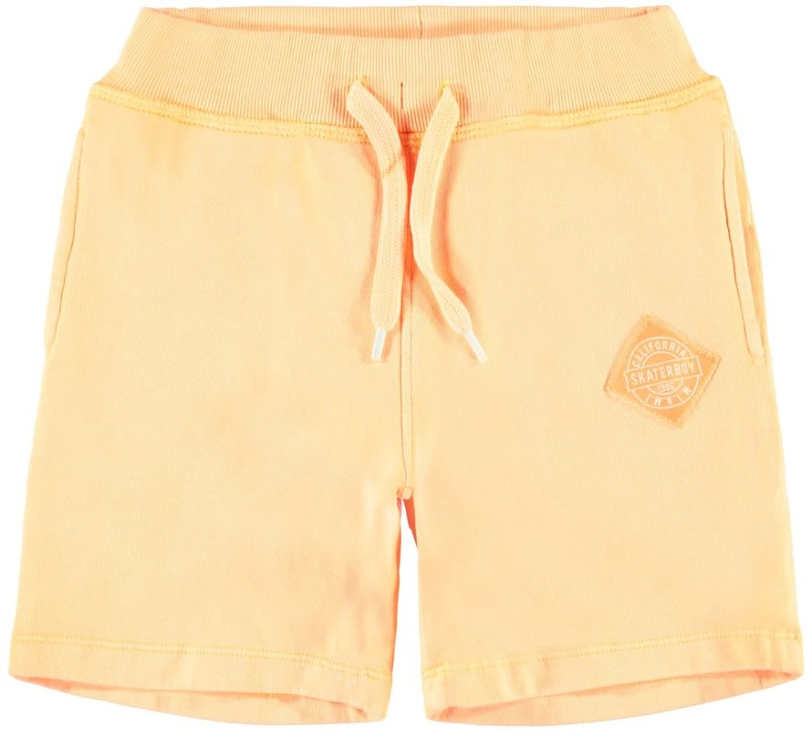 NKMJASMUS SWEAT SHORTS UNB 13165444 orange pop