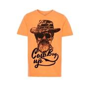 Name it 13165385 Nkmhatia t-shirt orange pop