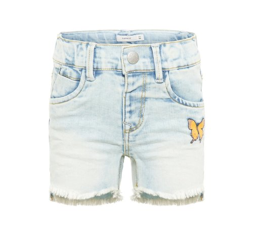 Name it SALE 13162583 Nmfsalli dnmbalikka short light blue denim