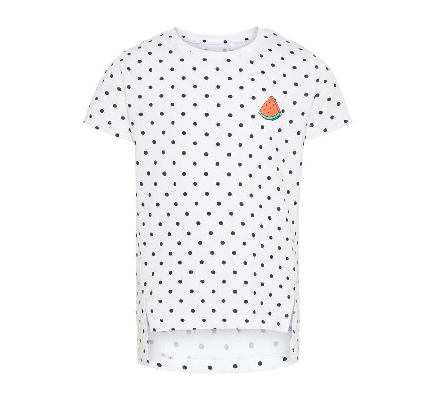 SALE 13164434 Nkfvia top bright white/dots