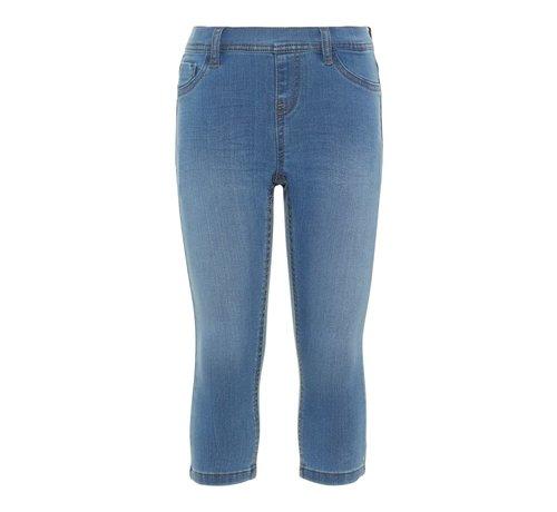 Name it SALE 13167754 Knfpolly capri legging medium ble denim