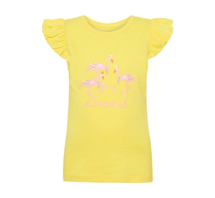 NMFVIBEKE TANK TOP J 13164398 primerose yellow