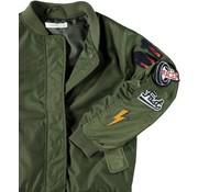 Name it SALE 13161767 Nkmmars bomber jacket ivy green