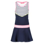 B.NOSY 5894 976 dress zigzag valt smal SALE