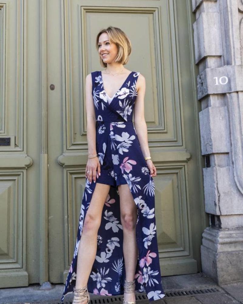 Spring Playsuit Dress