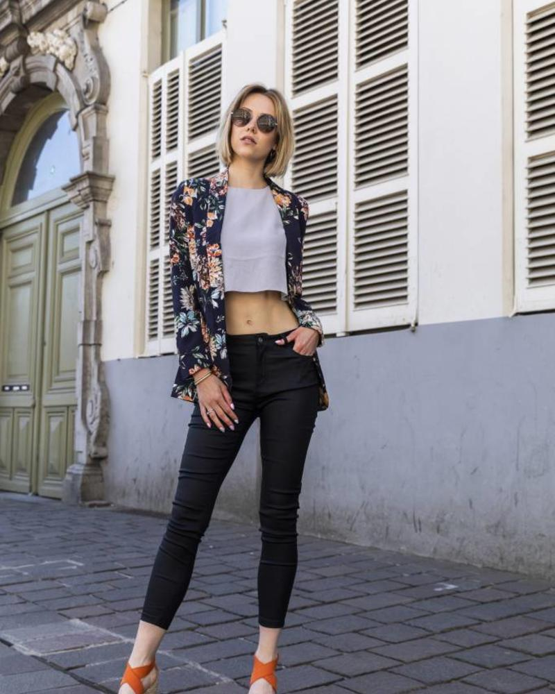 Floral Suit Blazer