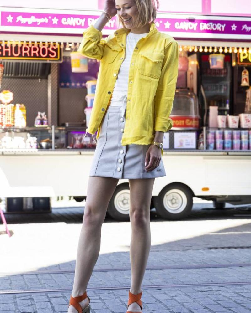 Virginia Skirt Grey