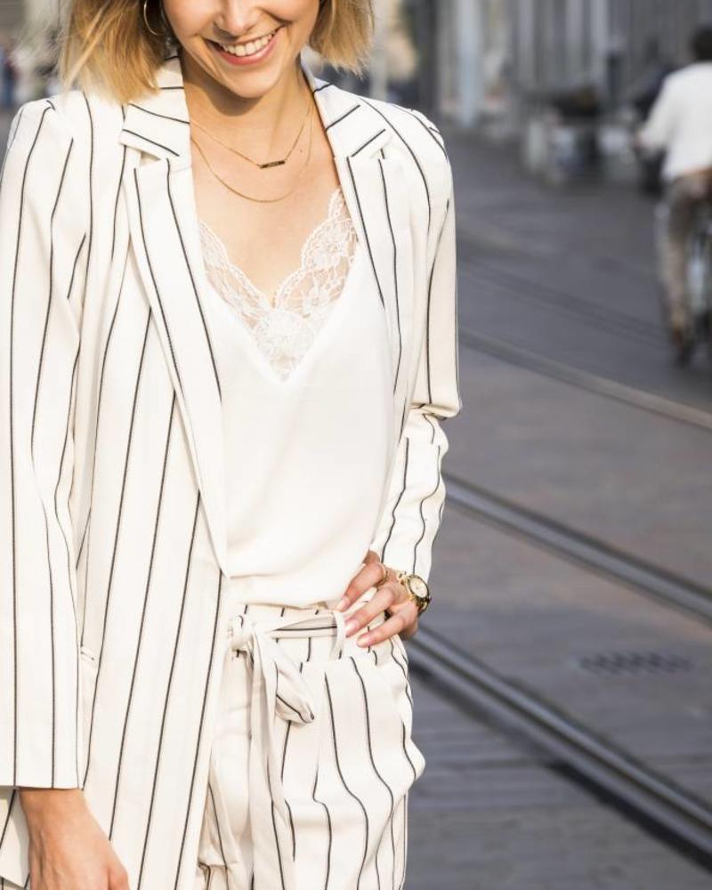 Romantic Lace Top White