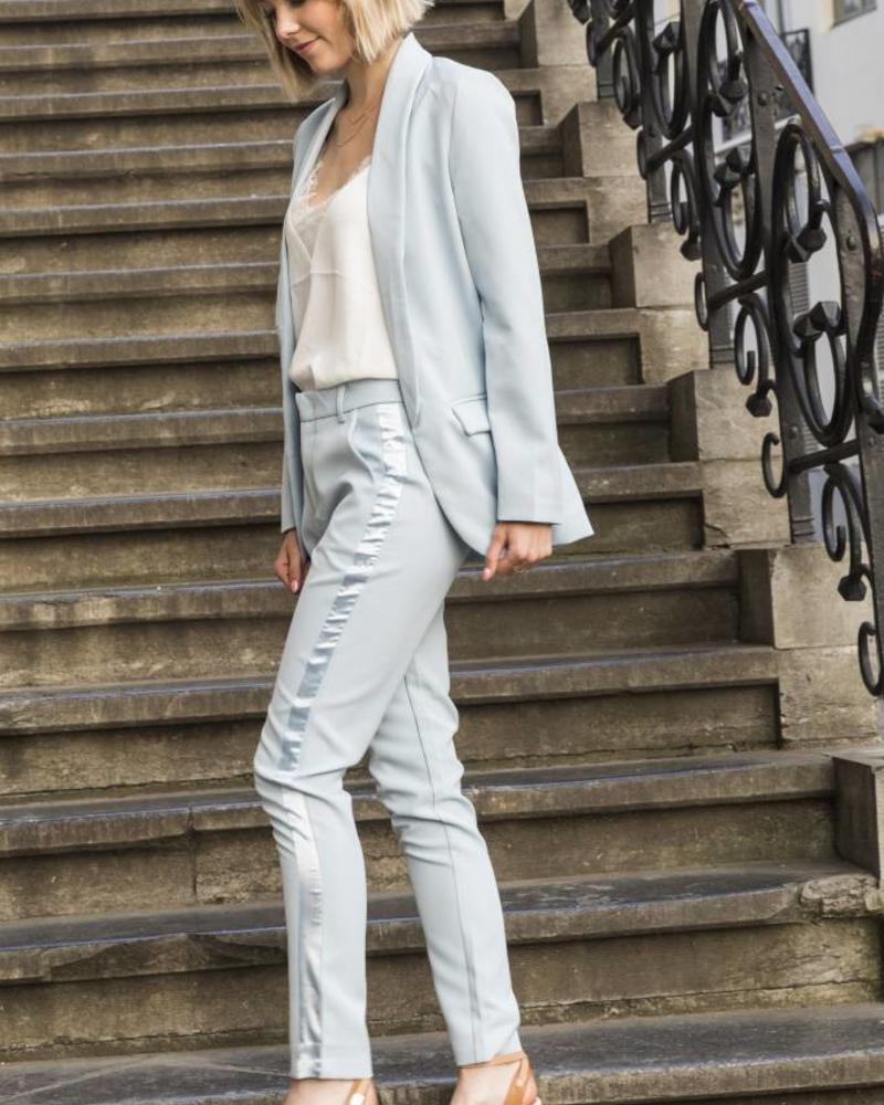 Feminine Suit Blazer Blue