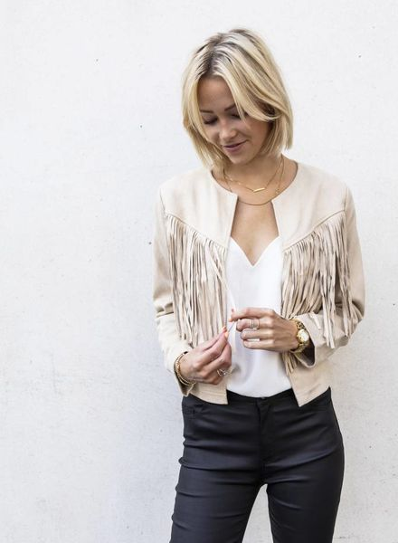 Fringes Jacket
