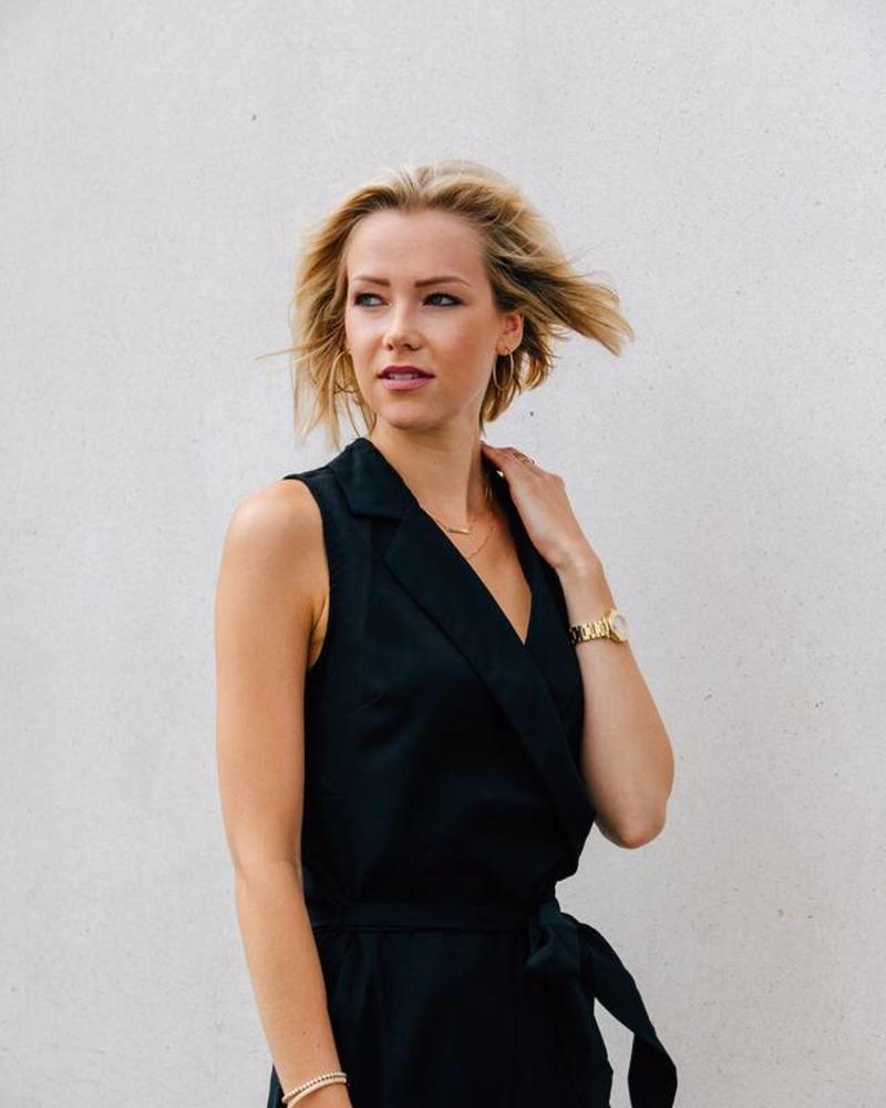 Classy Black Jumpsuit